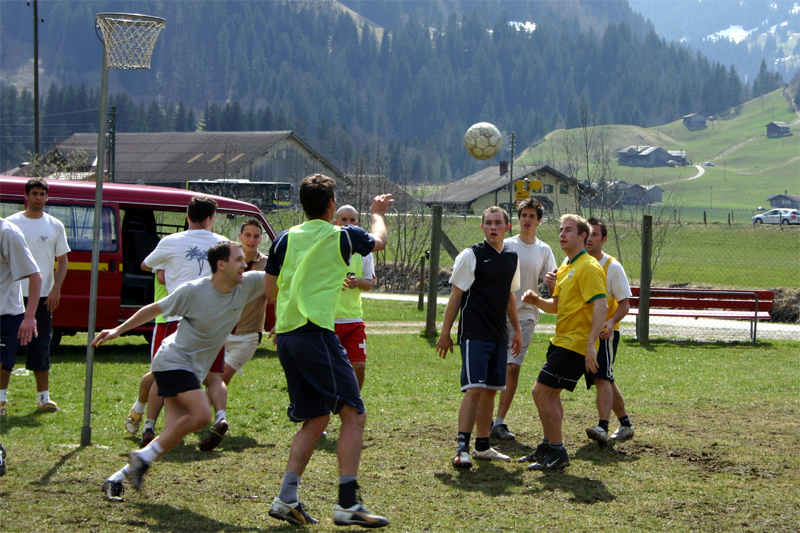 2007 Korbball Trainingslager (2)