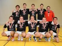 Korbball, Cup-Final 2012/13, Turner: 2. Pieterlen, die Silbermedaillen-Gewinner aus dem Seeland.