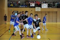 Korbball, Cup-Final 2012/13, Turner: Pieterlen (schwarz)-Altnau 11:14.