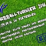 Flyer Korbballturnier 2016 V